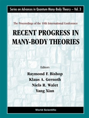 cover image of Recent Progress In Many-body Theories--Proceedings of the 10th International Conference