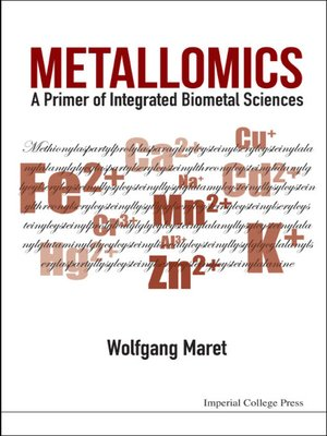 cover image of Metallomics
