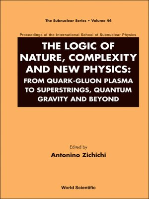cover image of The Logic of Nature, Complexity and New Physics