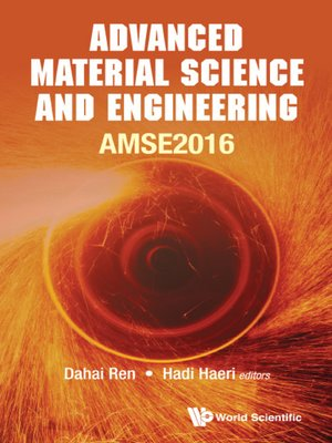 cover image of Advanced Material Science and Engineering--Proceedings of the 2016 International Conference (Amse2016)