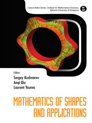 cover image of Mathematics of Shapes and Applications