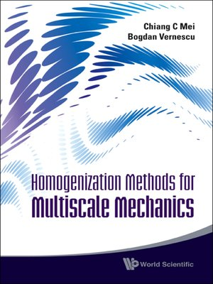cover image of Homogenization Methods For Multiscale Mechanics