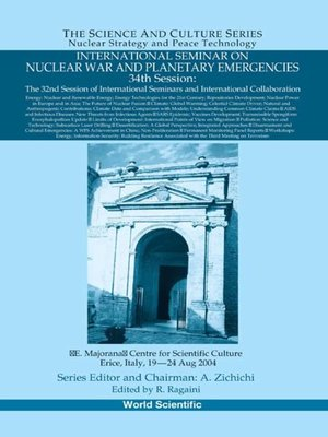 cover image of International Seminar On Nuclear War and Planetary Emergencies--34th Session