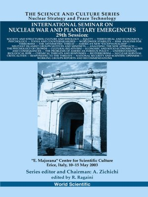 cover image of Society and Structures, Proceedings of the International Seminar On Nuclear War and Planetary Emergencies--29th Session