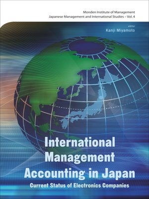 cover image of International Management Accounting In Japan