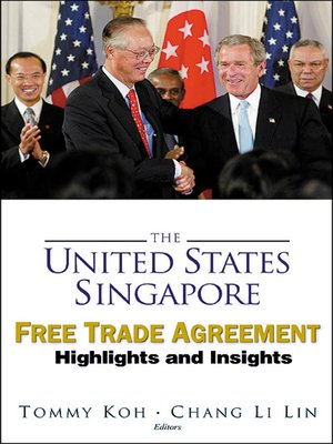 cover image of The United States-singapore Free Trade Agreement