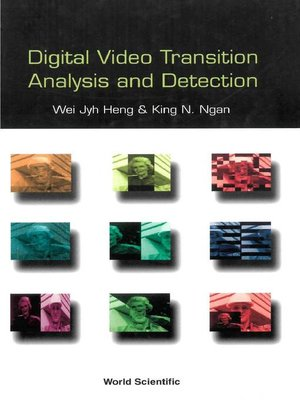 cover image of Digital Video Transition Analysis and Detection