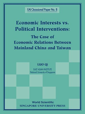 cover image of Economic Interests Vs Political Interventions