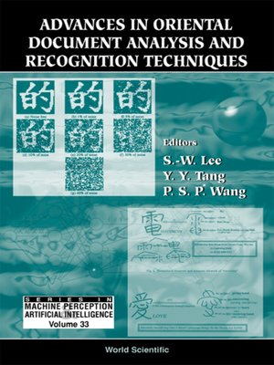 cover image of Advances In Oriental Document Analysis and Recognition Techniques