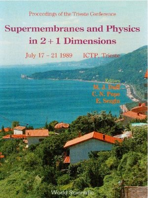 cover image of Supermembranes and Physics In 2+1 Dimensions--Trieste Conference