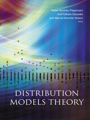 cover image of Distribution Models Theory