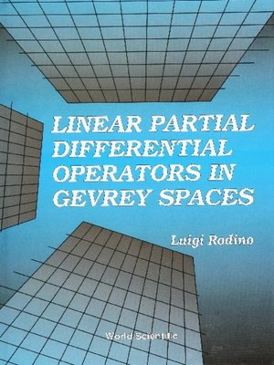 cover image of Linear Partial Differential Operators In Gevrey Spaces
