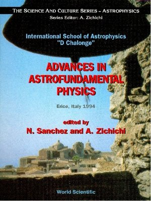 cover image of Advances In Astrofundamental Physics