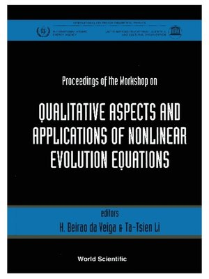 cover image of Qualitative Aspects and Applications of Nonlinear Evolution Equations--Proceedings of the Workshop