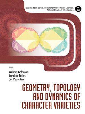 cover image of Geometry, Topology and Dynamics of Character Varieties