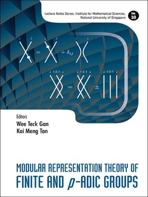 cover image of Modular Representation Theory of Finite and P-adic Groups