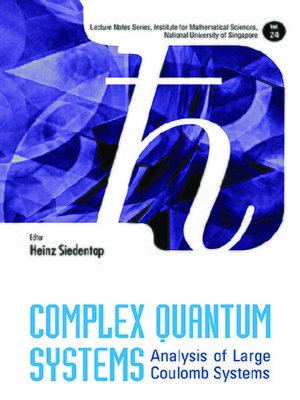 cover image of Complex Quantum Systems