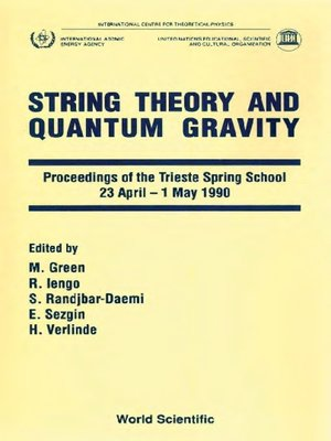 cover image of String Theory and Quantum Gravity--Proceedings of Trieste Spring School