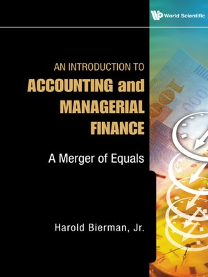 cover image of An Introduction to Accounting and Managerial Finance
