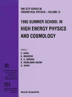 cover image of High Energy Physics and Cosmology--Proceedings of the 1995 Summer School