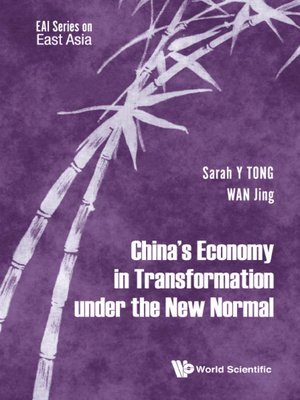 cover image of China's Economy In Transformation Under the New Normal