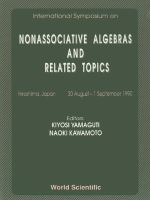 cover image of Nonassociative Algebras and Related Topics--Proceedings of the International Symposium