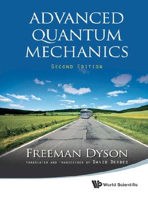 cover image of Advanced Quantum Mechanics ()