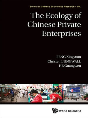 cover image of The Ecology of Chinese Private Enterprises