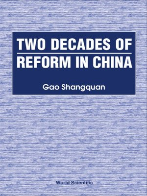 cover image of Two Decades of Reform In China