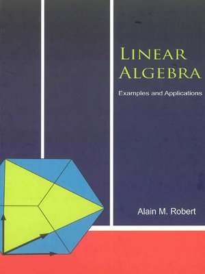 cover image of Linear Algebra