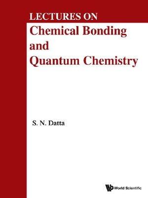 cover image of Lectures On Chemical Bonding and Quantum Chemistry