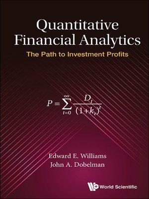 cover image of Quantitative Financial Analytics