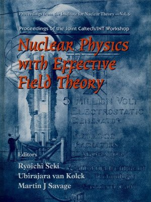cover image of Nuclear Physics With Effective Field Theory--Proceedings of the Joint Caltech/int Workshop