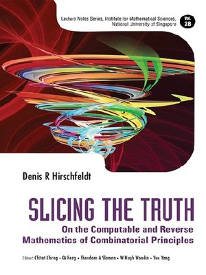 cover image of Slicing the Truth