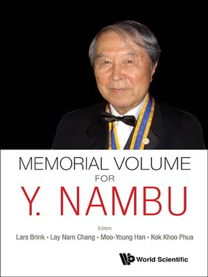 cover image of Memorial Volume For Y. Nambu
