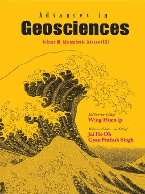 cover image of Advances In Geosciences (A 6-volume Set)--Volume 10