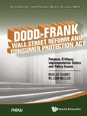 cover image of Dodd-frank Wall Street Reform and Consumer Protection Act