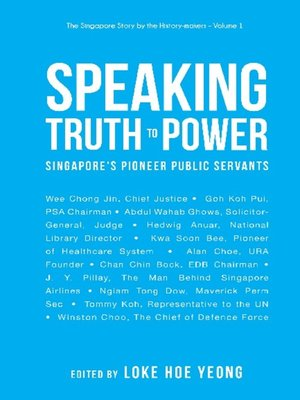 cover image of Speaking Truth to Power