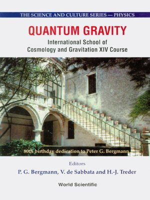 cover image of Quantum Gravity--Proceedings of the International School of Cosmology and Gravitation Xiv Course