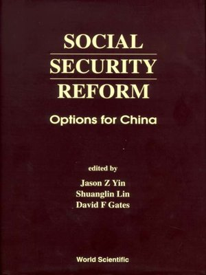 cover image of Social Security Reform