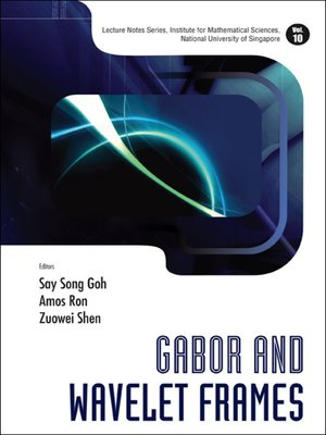 cover image of Gabor and Wavelet Frames