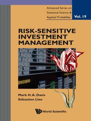 cover image of Risk-sensitive Investment Management