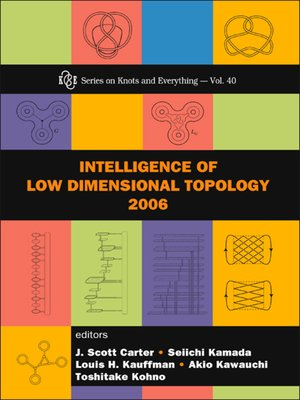 cover image of Intelligence of Low Dimensional Topology 2006