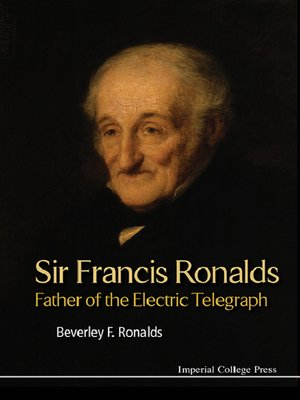 cover image of Sir Francis Ronalds