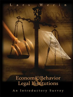 cover image of Economic Behavior and Legal Institutions