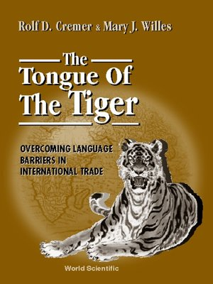 cover image of Tongue of the Tiger