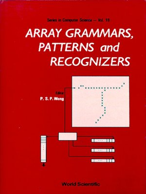 cover image of Array Grammars, Patterns and Recognizers
