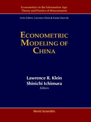 cover image of Econometric Modeling of China