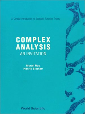 cover image of Complex Analysis