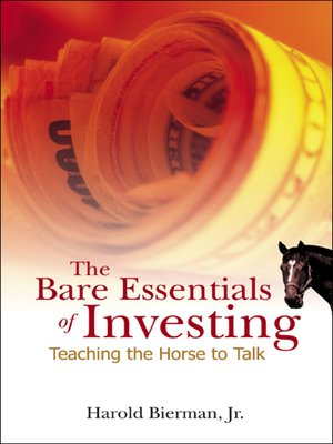 cover image of The Bare Essentials of Investing